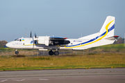 Rare visit of Antonov An26 to Liege title=