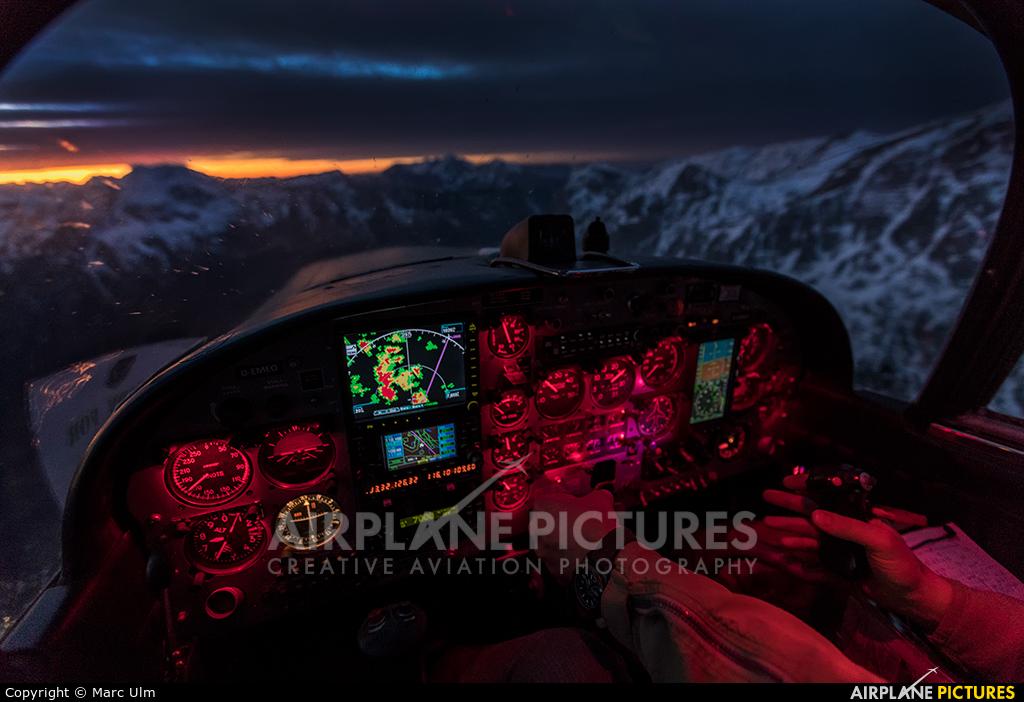 Private D-EMEO aircraft at Salzburg
