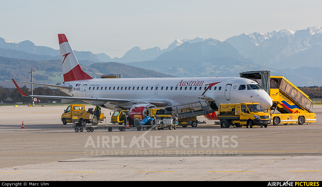 Austrian Airlines/Arrows/Tyrolean OE-LWG aircraft at Salzburg