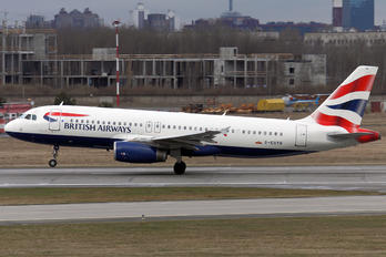 G-EUYB - British Airways Airbus A320