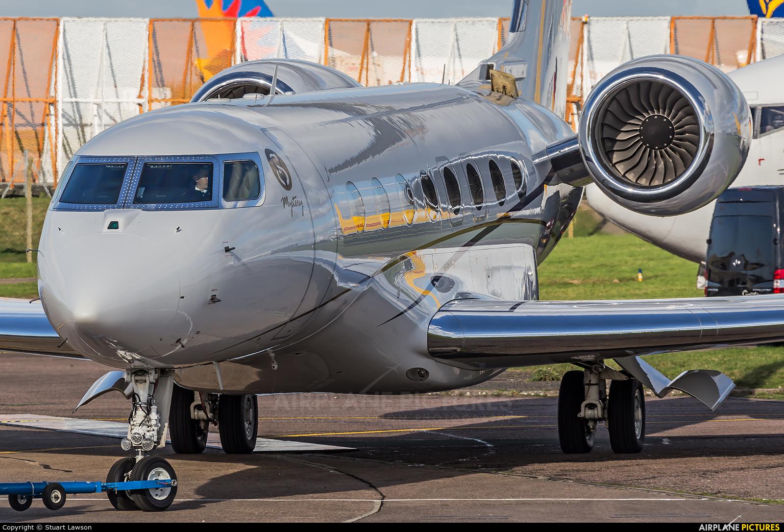 King Power International HS-VSK aircraft at East Midlands