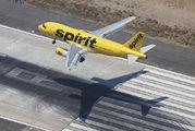 N502NK - Spirit Airlines Airbus A319 aircraft