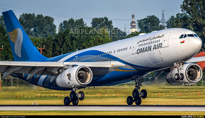 Oman Air A40-DG aircraft at Munich