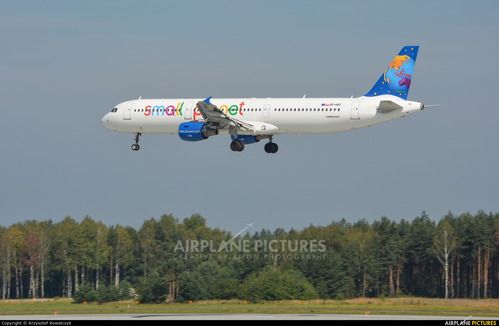 Small Planet Airlines SP-HAZ aircraft at Katowice - Pyrzowice