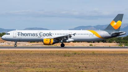 OY-VKC - Thomas Cook Scandinavia Airbus A321
