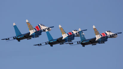 "10 - Russia - Air Force ""Russian Knights"" Sukhoi Su-27"
