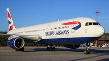 G-BNWX - British Airways Boeing 767-300 aircraft