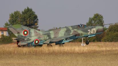 243 - Bulgaria - Air Force Mikoyan-Gurevich MiG-21bis