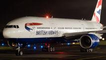 G-YMMD - British Airways Boeing 777-200 aircraft