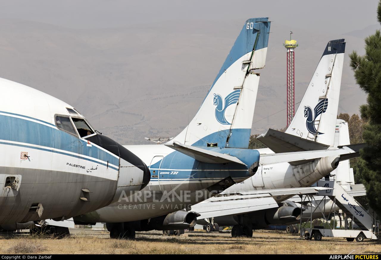 Iran Air EP-IGD aircraft at Tehran - Mehrabad Intl