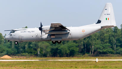 KC-3806 - India - Air Force Lockheed C-130J Hercules