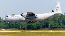 KC-3806 - India - Air Force Lockheed C-130J Hercules aircraft