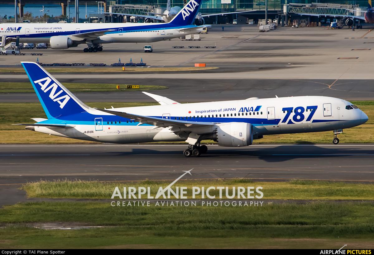 ANA - All Nippon Airways JA818A aircraft at Tokyo - Narita Intl