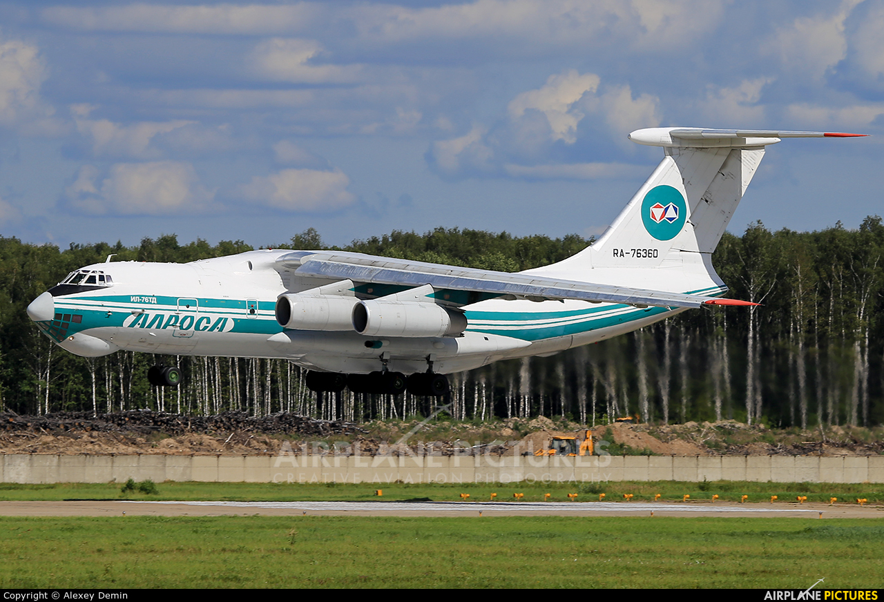 Alrosa RA-76360 aircraft at Moscow - Domodedovo