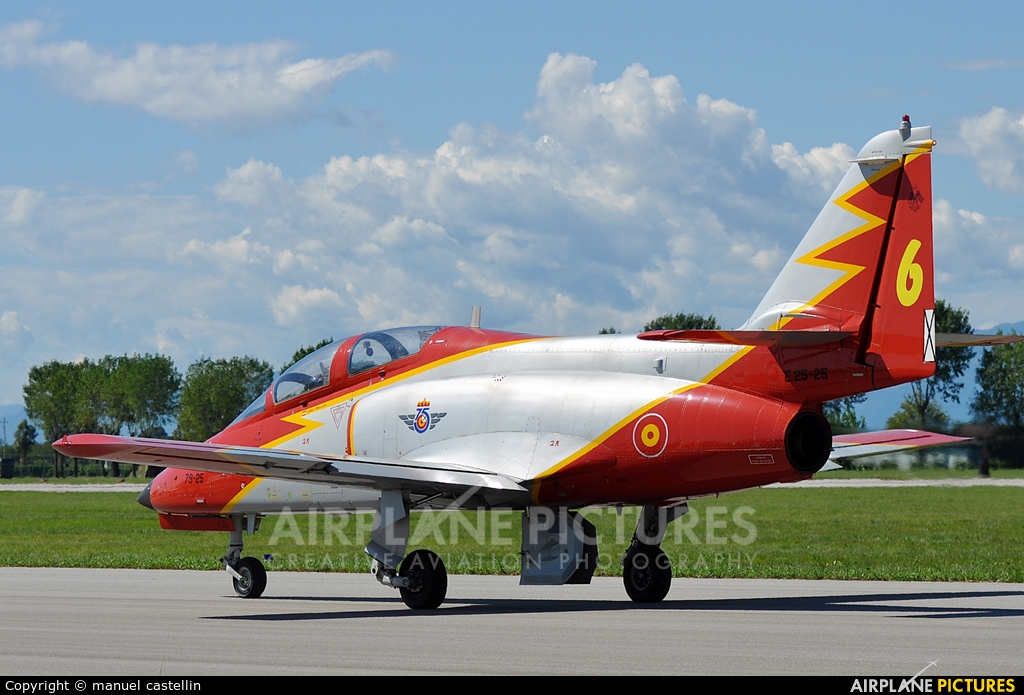 Spain - Air Force : Patrulla Aguila 79-25 aircraft at Rivolto