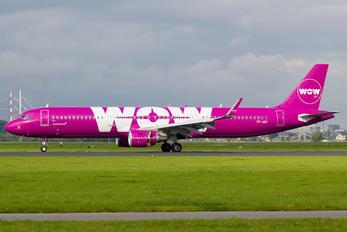 TF-JOY - WOW Air Airbus A321