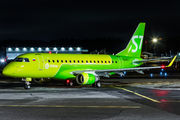 Delivery flight of new Embraer 170 for S7 Airlines title=