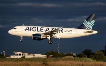 F-HBAL - Aigle Azur Airbus A319