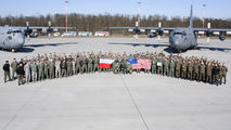 EPPW - Poland - Air Force - Airport Overview - Apron aircraft