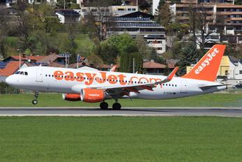 G-EZOA - easyJet Airbus A320