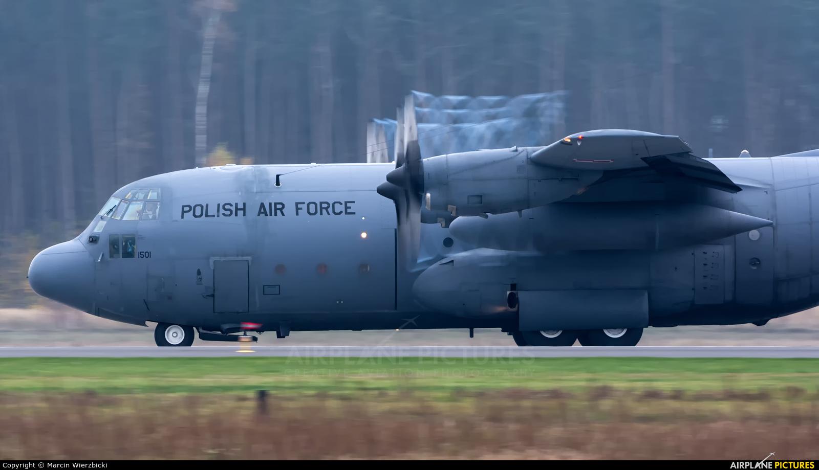 Poland - Air Force 1501 aircraft at Powidz