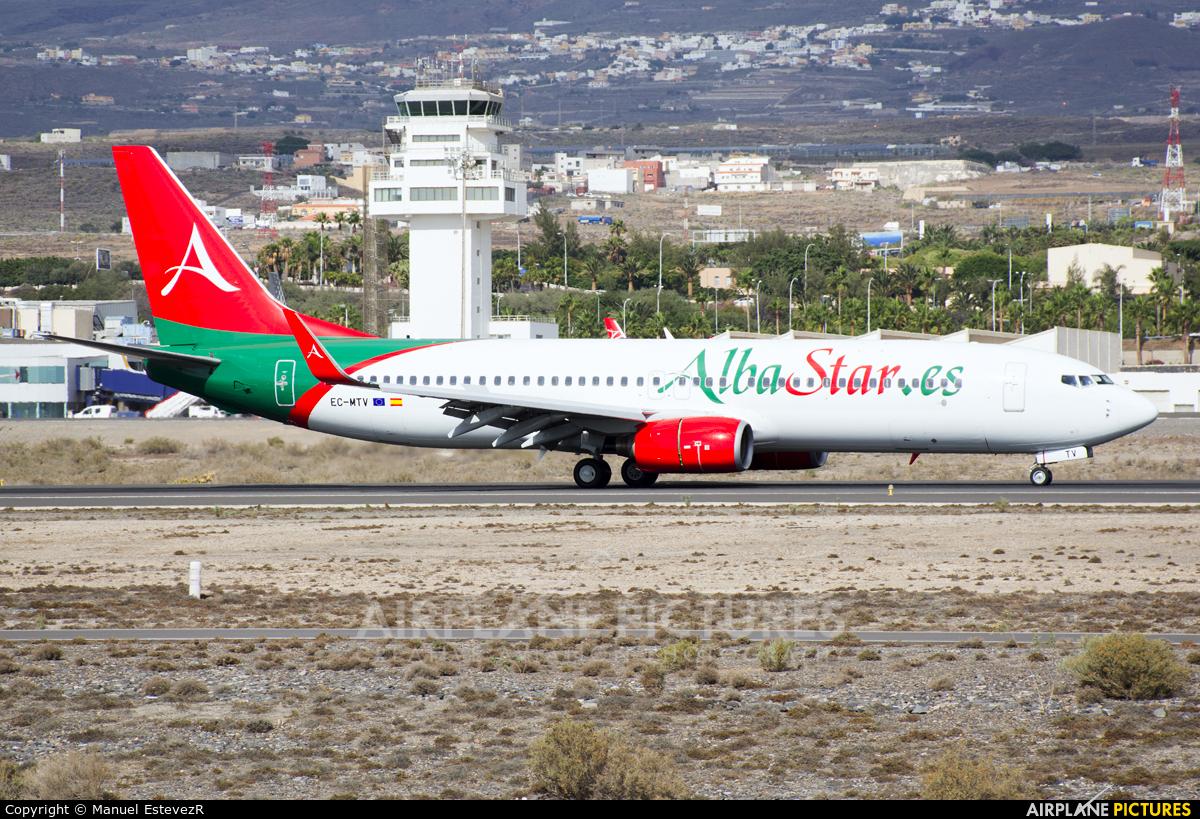 AlbaStar EC-MTV aircraft at Tenerife Sur - Reina Sofia