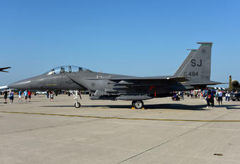89-0484 - USA - Air Force McDonnell Douglas F-15E Strike Eagle