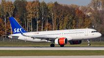 LN-RGL - SAS - Scandinavian Airlines Airbus A320 NEO aircraft