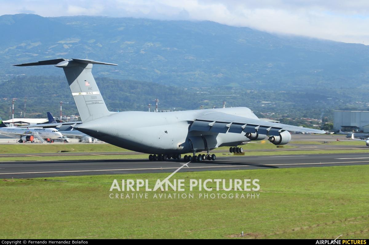 USA - Air Force 87-0029 aircraft at San Jose - Juan Santamaría Intl