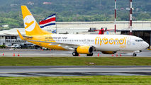 Flybondi B738 makes a technical stop at San Jose title=
