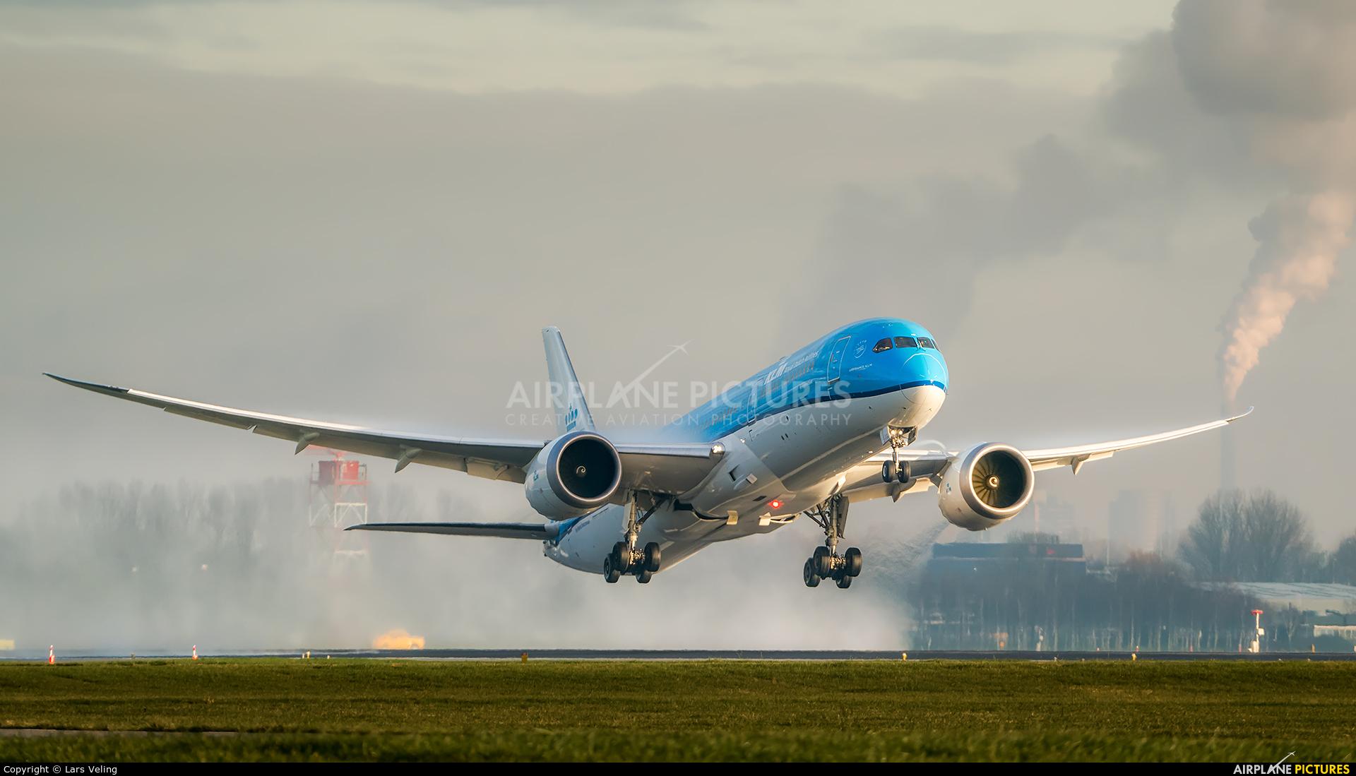 KLM PH-BHD aircraft at Amsterdam - Schiphol
