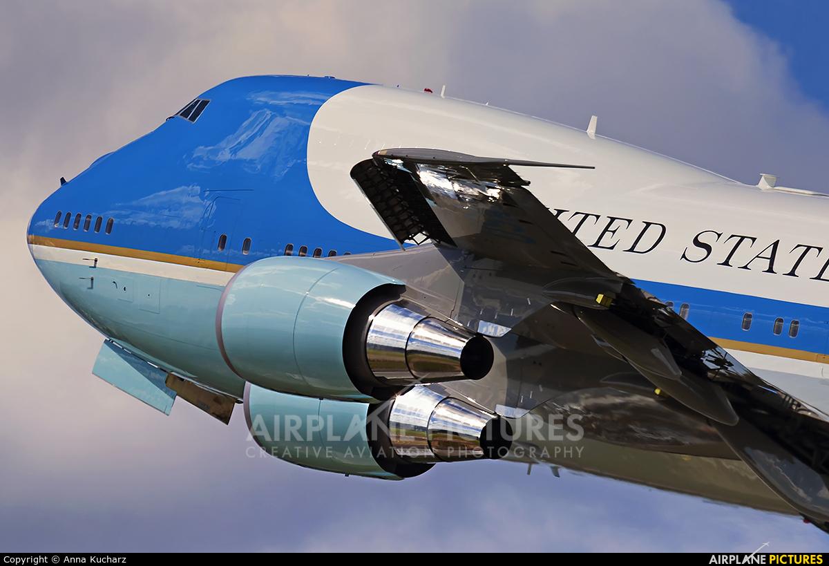 USA - Air Force 28000 aircraft at Warsaw - Frederic Chopin