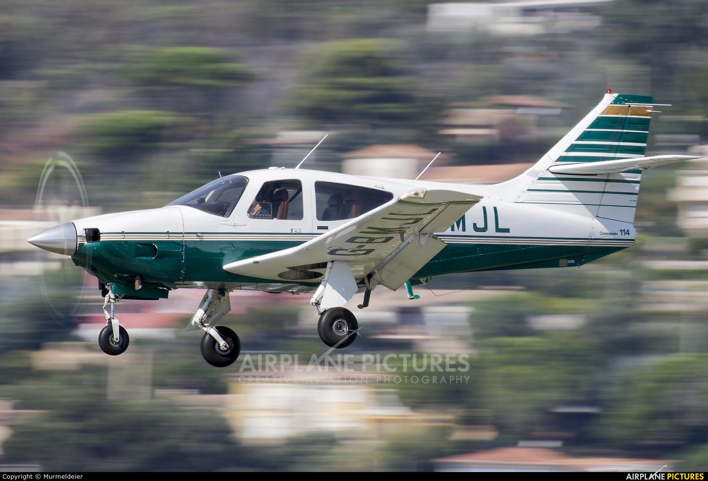 Private G-BMJL aircraft at Cannes - Mandelieu