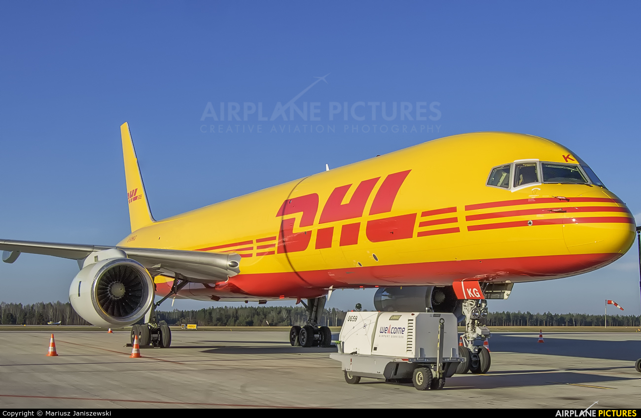 DHL Cargo G-DHKG aircraft at Katowice - Pyrzowice