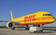 G-DHKG - DHL Cargo Boeing 757-200F aircraft