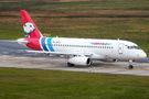 Yamal Airlines Sukhoi SuperJet visits Hannover