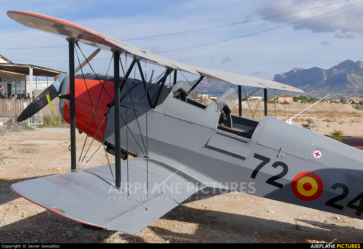 Aeroclub de Alicante EC-FSS aircraft at Alicante - Muchamiel
