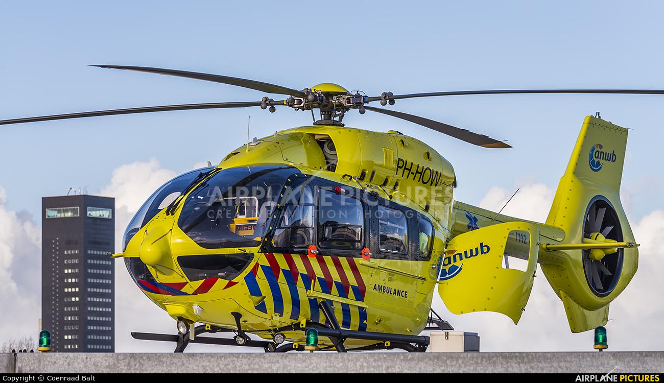 ANWB Medical Air Assistance PH-HOW aircraft at Leeuwarden