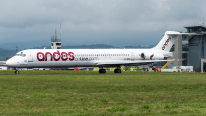 LV-WGN - Andes Lineas Aereas  McDonnell Douglas MD-83