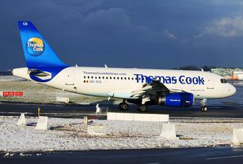 OO-TCS - Thomas Cook Belgium Airbus A319