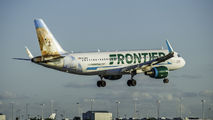N232FR - Frontier Airlines Airbus A320 aircraft