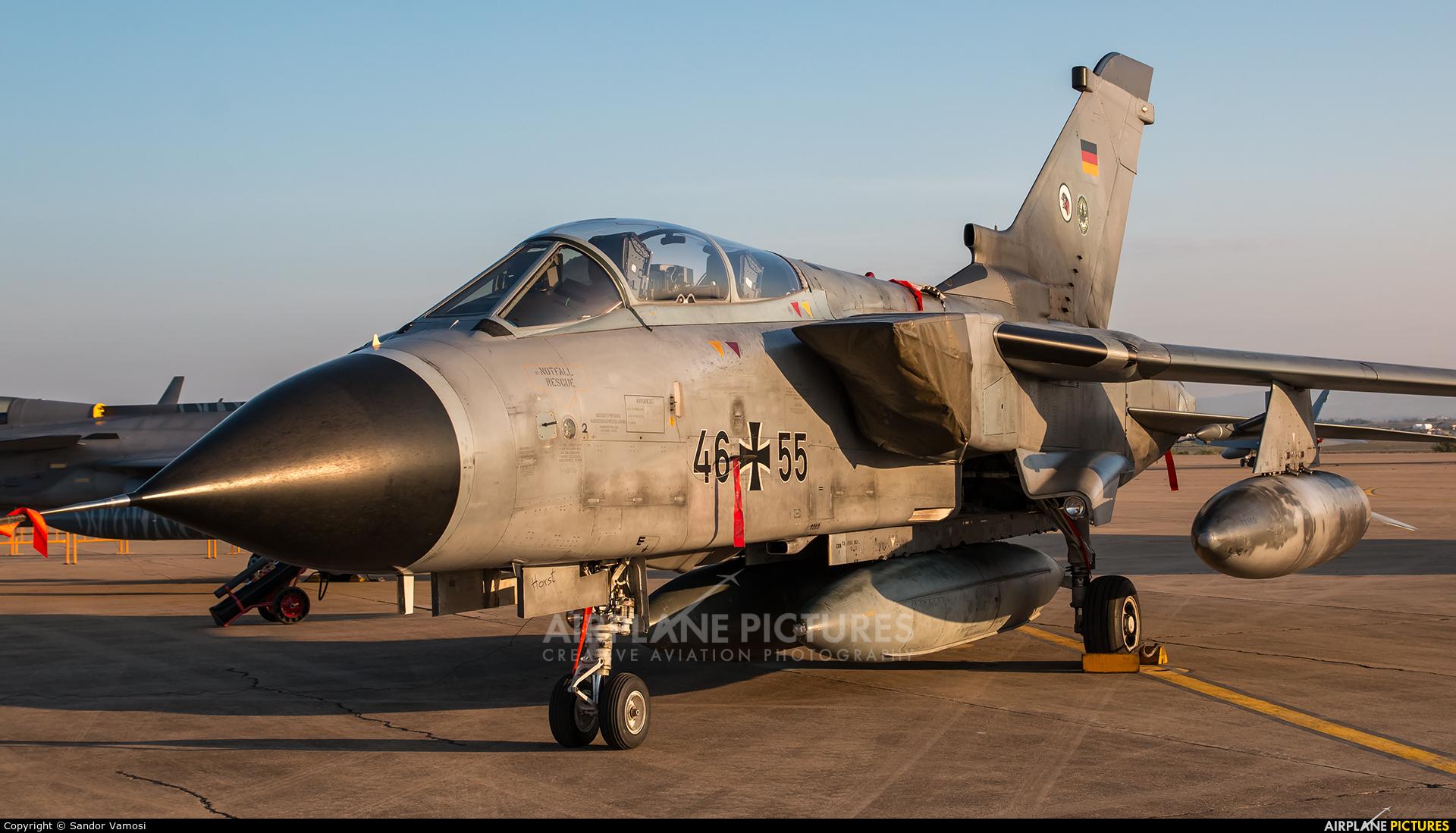 Germany - Air Force 46+55 aircraft at Zaragoza