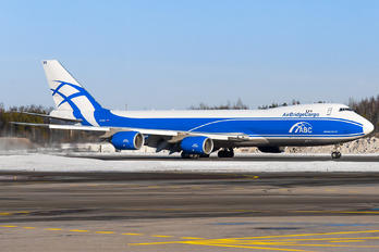 VQ-BVR - Air Bridge Cargo Boeing 747-8F