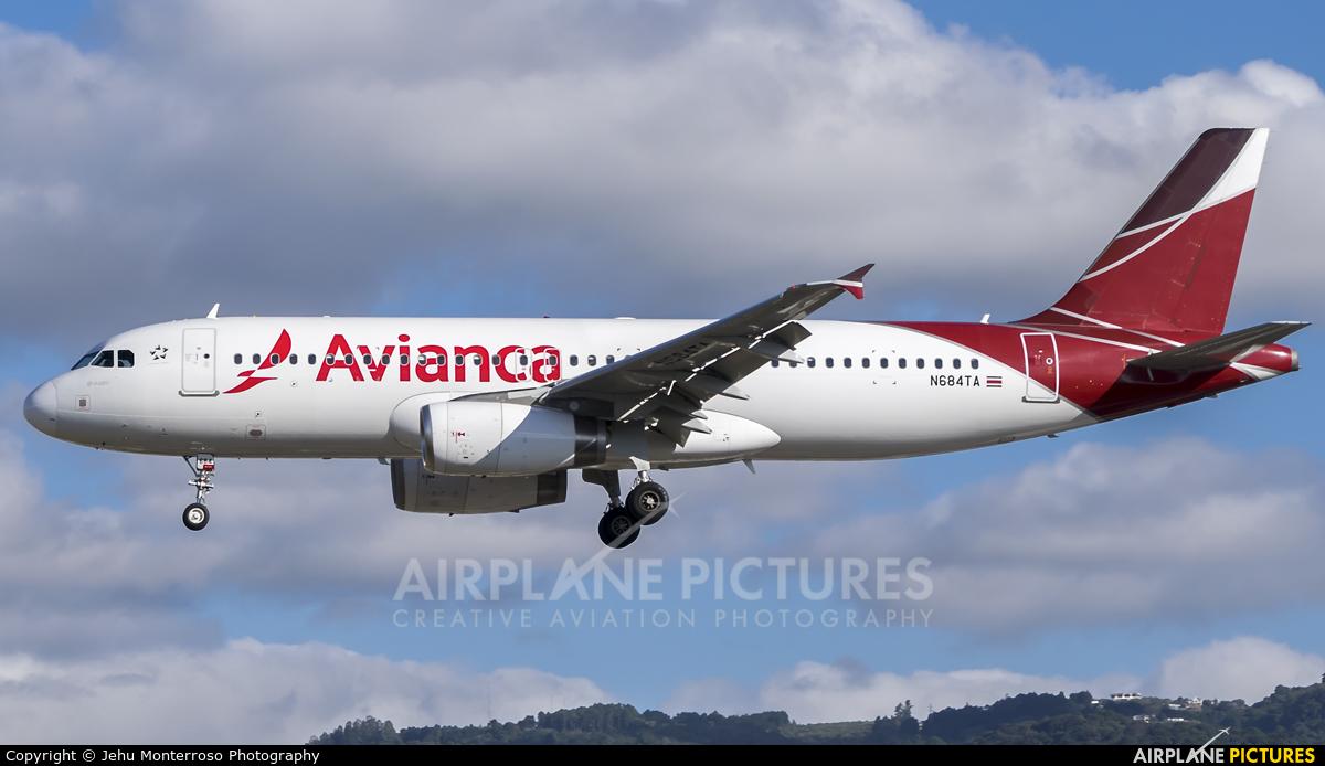 TACA N684TA aircraft at Guatemala - La Aurora