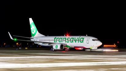 PH-HXJ - Transavia Boeing 737-800
