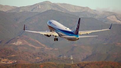 JA78AN - ANA - All Nippon Airways Boeing 737-800