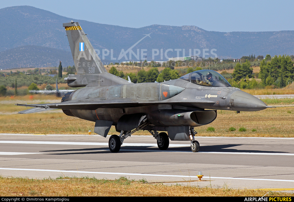 Greece - Hellenic Air Force 538 aircraft at Tanagra