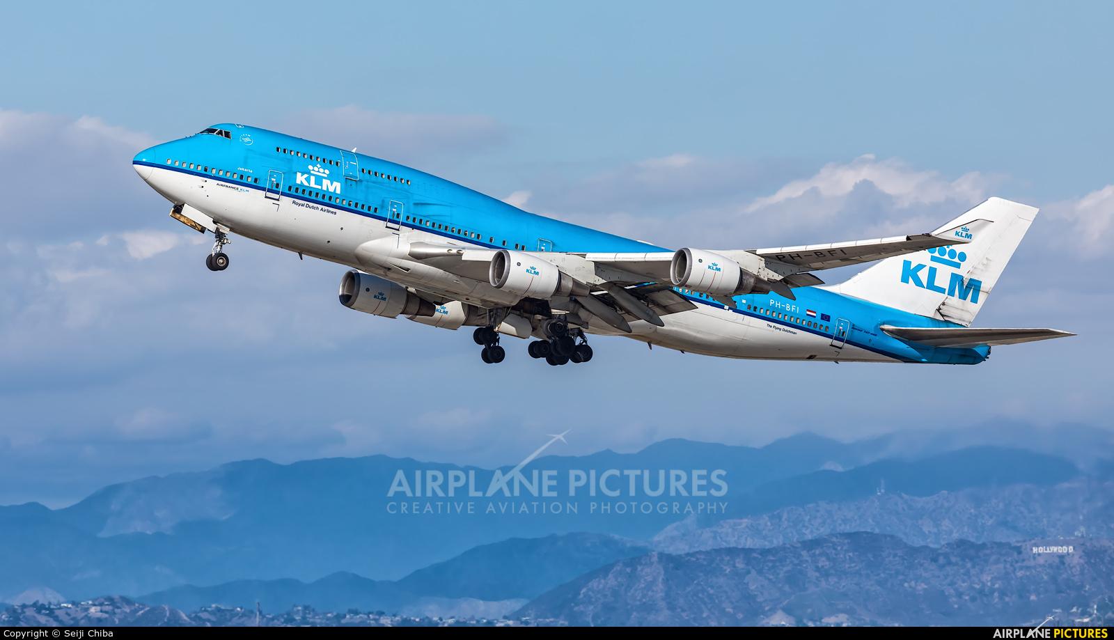 PH-BFI - KLM Boeing 747-400 at Los Angeles Intl | Photo ID