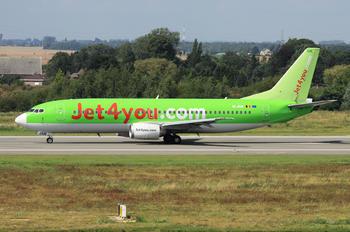 OO-JAM - Jet4You Boeing 737-400