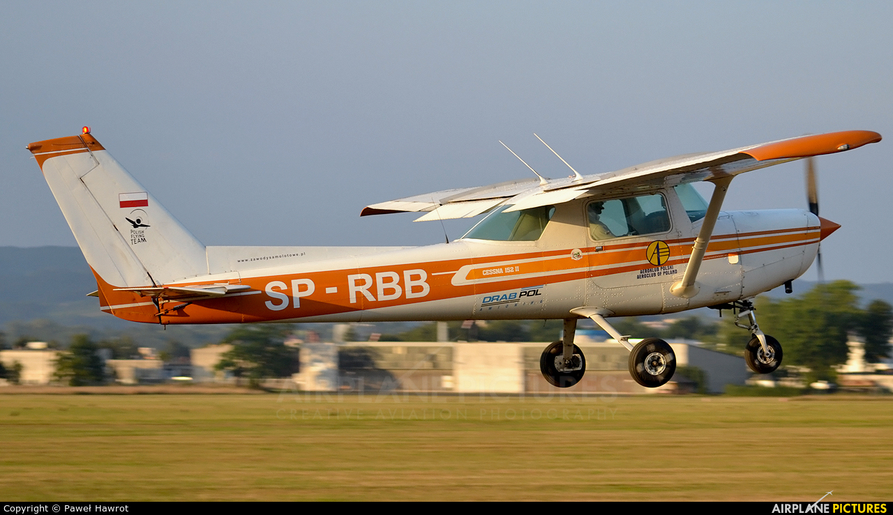 Private SP-RBB aircraft at Krosno